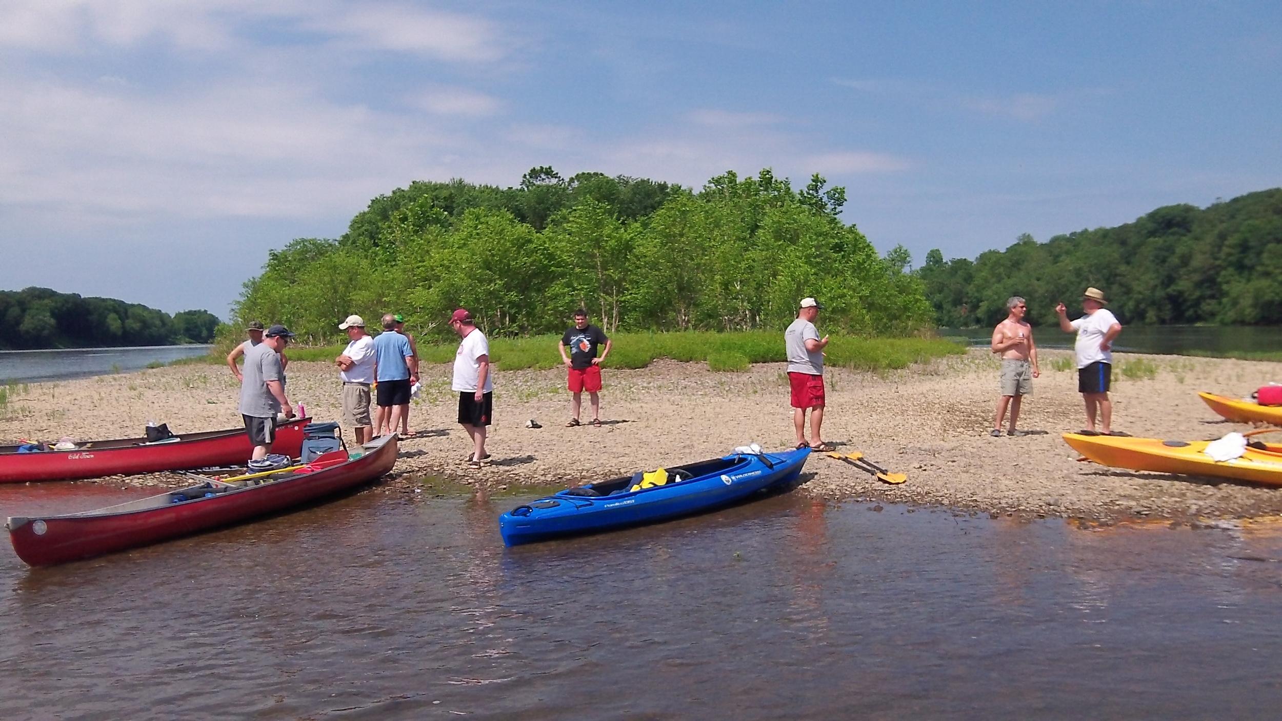Saturday Paddle 2012 - 2