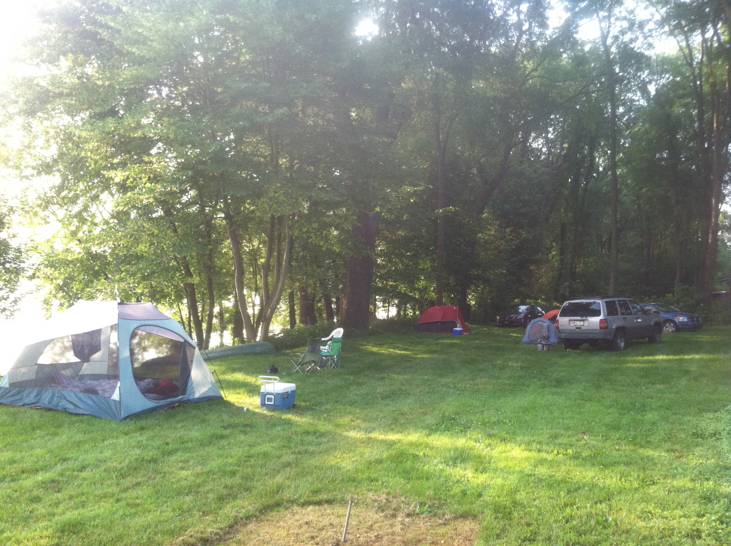 2013 - Camping in Riverside - Fri.