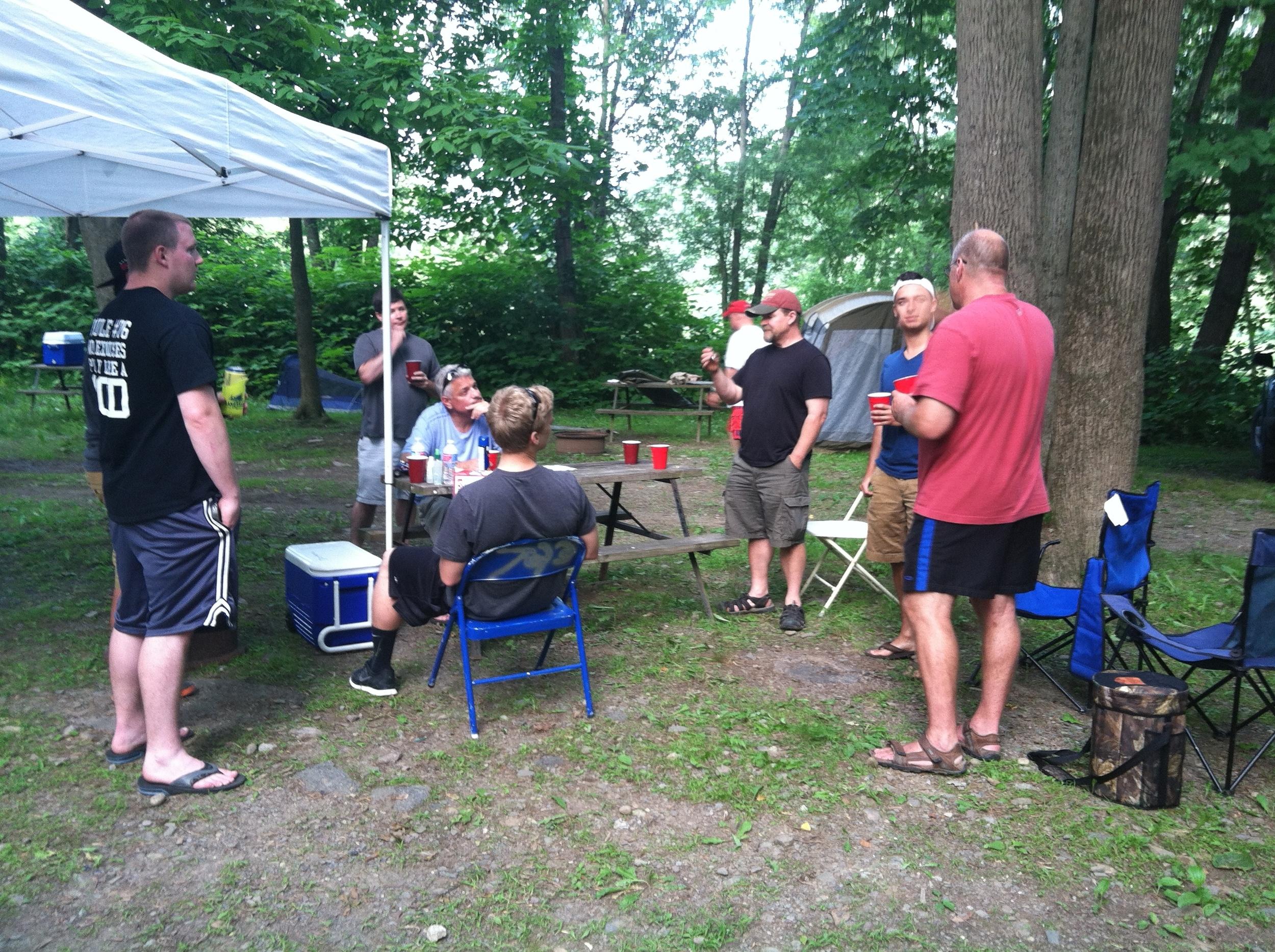 2014 - Saturday night camp