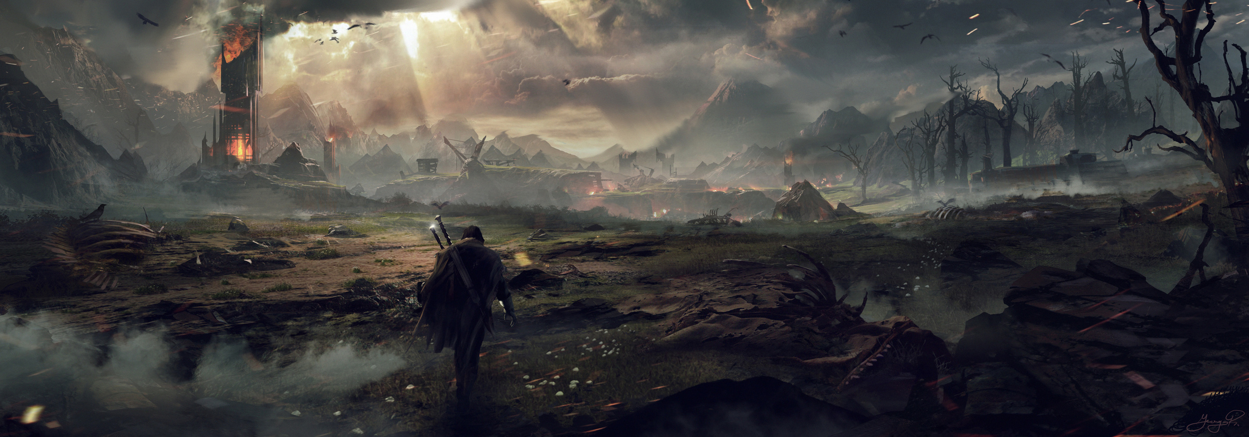 I think Mordor is a pretty accurate image for the present American political landscape.