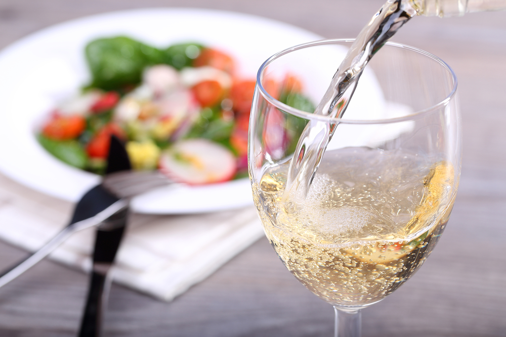 white wine and meal pairing