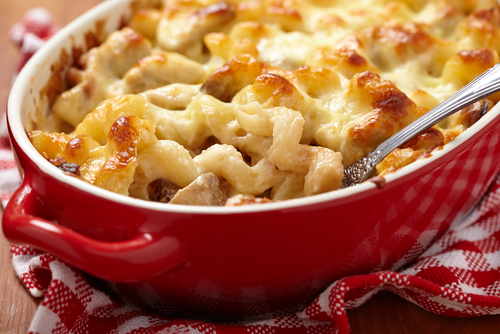 Béchamel is the perfect base for MACARONI and cheese
