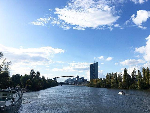 Ei schee wars wie immer! #frankfurt #touristinmycity #hometown #mainhattan #frankfurtermädsche