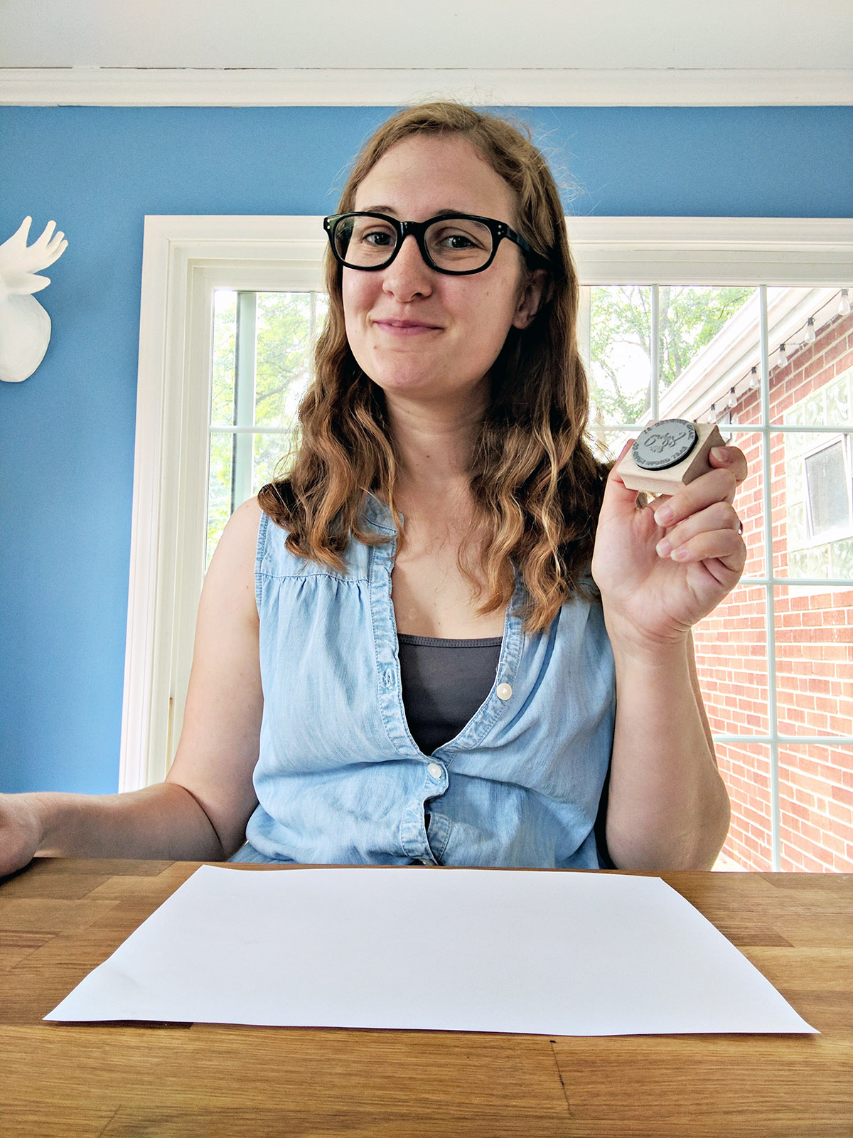 How to use a rubber stamp correctly