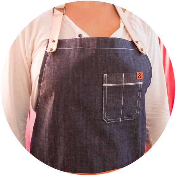 Hedley & Bennett  – I can personally vouch for the sturdy, stylish aprons by Hedley & Bennett: my siblings and I bought one for our mom. Designed for professional chefs, these aprons are the real deal.