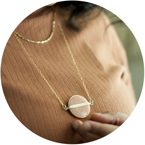 Michelle Starbuck Designs  – handmade in Chicago, Michelle's spring line features gold, bronze, and brass paired with gorgeous warm hued stones in contemporary and vintage settings.