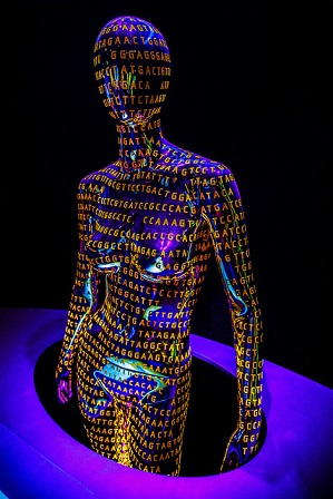 Human Genome by Richard Riccardi /  Flickr (Creative Commons-BY-NC-ND 4.0)