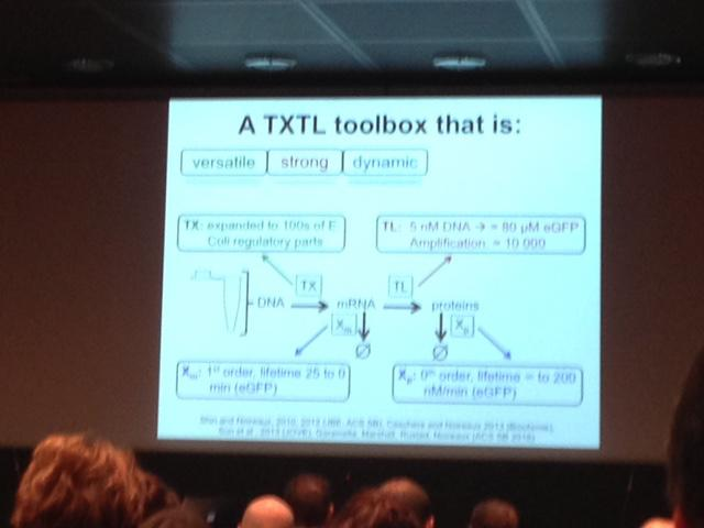 Vincent Noireux, TXTL platform