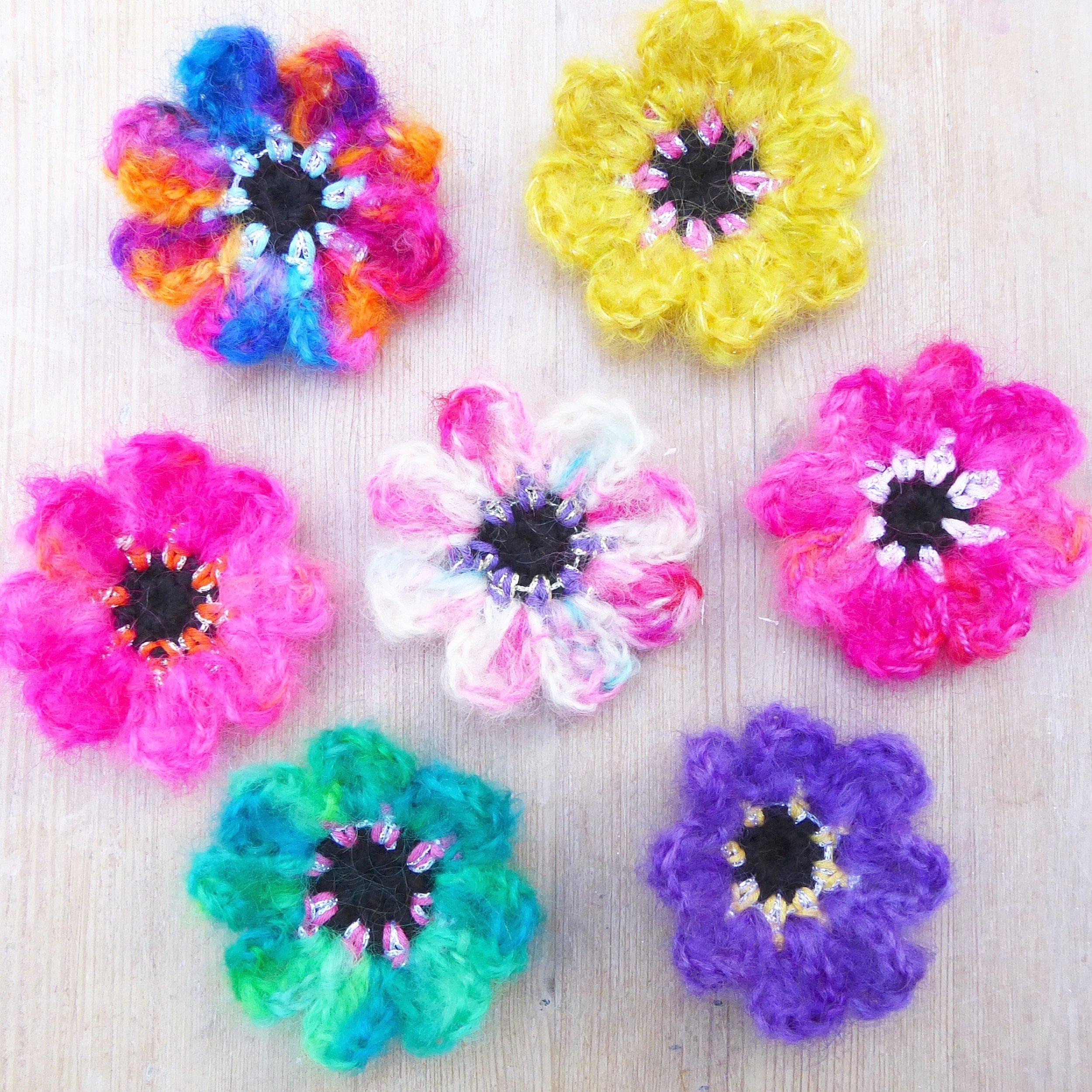 mohair flowers