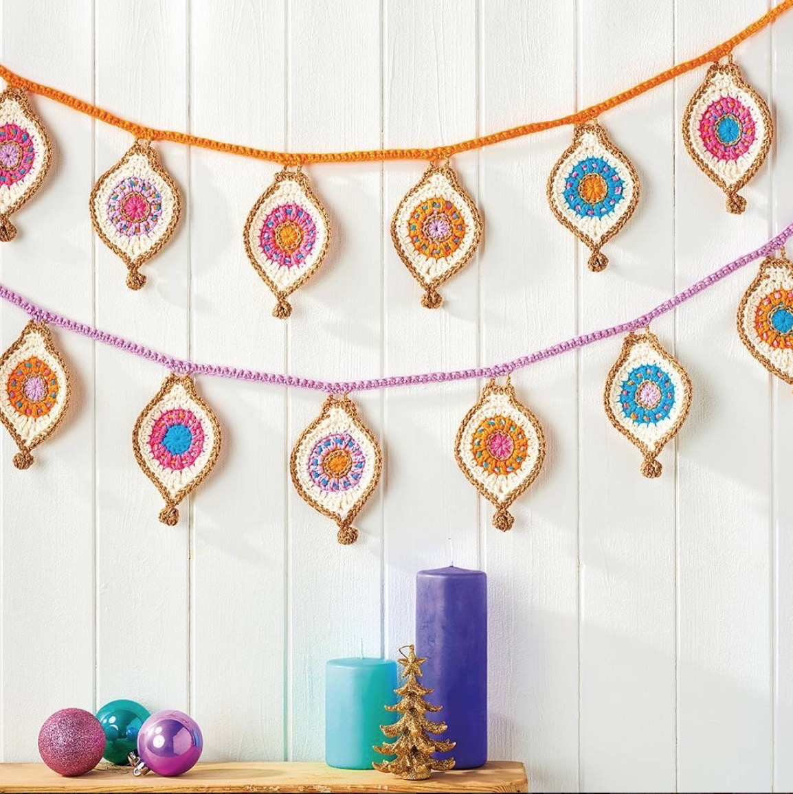 Bauble Bunting Simply Crochet Magazine