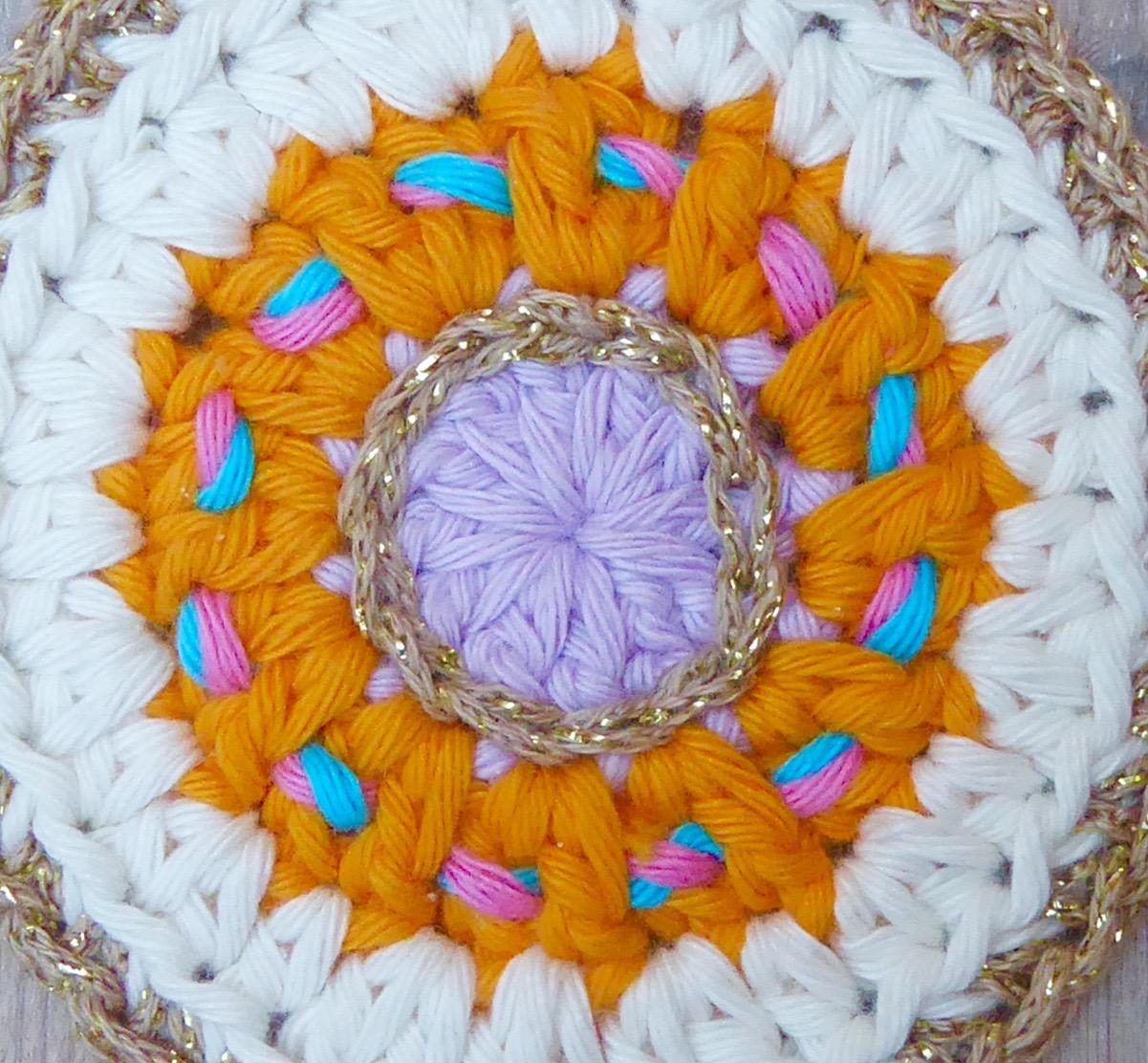 Crochet Bauble Bunting - embelishement