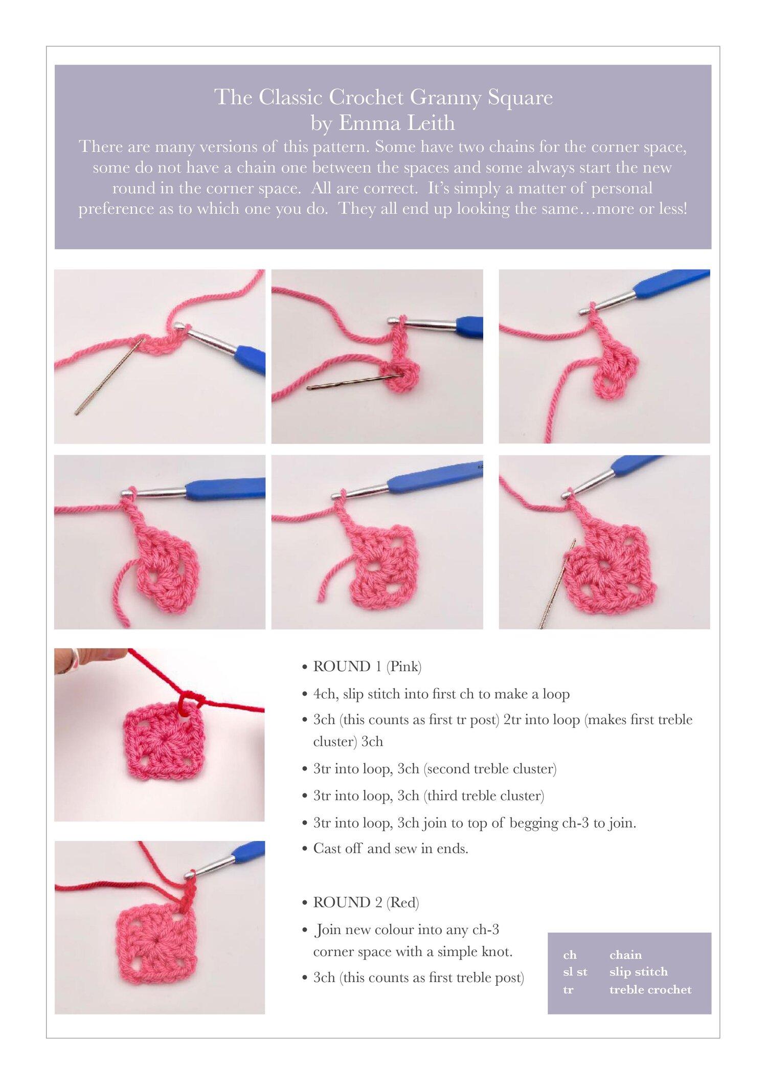 Free Crochet Granny Square Tutorial1.jpg