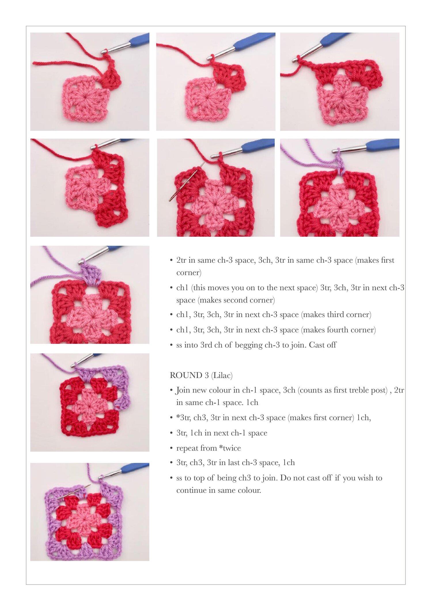 Free Crochet Granny Square Tutorial2.jpg