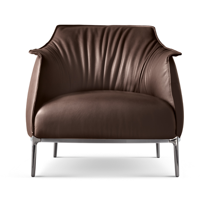 Look. At. This. Chair. How could anyone not want one? I immediately fell in love with the  Archibald  from Haworth Collection. Poltrona Frau leather, hand stitching, and polished metal accents. It's top notch and an experience in itself.