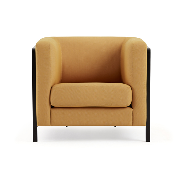 My favorite Haworth piece is the  m_sit  lounge chair. I love how comfortable the seat cushion is and the high arms makes you feel snug and secure.
