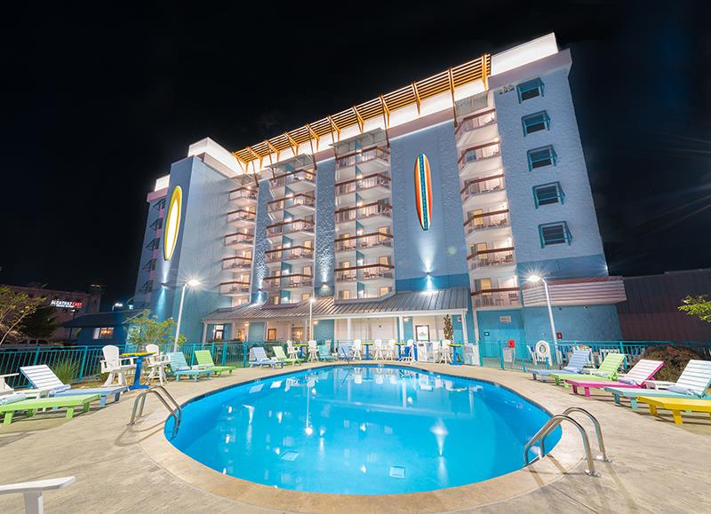 Margaritaville Island Inn - Location: Pigeon Forge, TNClient: Parrot Head HospitalityProject Size: 104 Guest rooms, restaurant, pool and various luxury amenities Scopes – Owners RepresentativeOpening: Summer 2017
