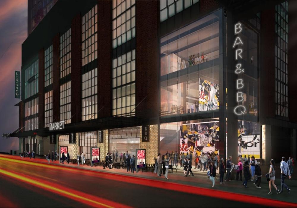 The HUB on Causeway (TD Garden) - Location: Boston, MAClient: Patina Restaurant GroupProject Size: 39,299 sqft. (20,146 sqft. Marketplace, 13,042 sqft. Sportsbar, 6,111 sqft. VIP Area) Scopes: Owners Representative Opening: Summer 2019