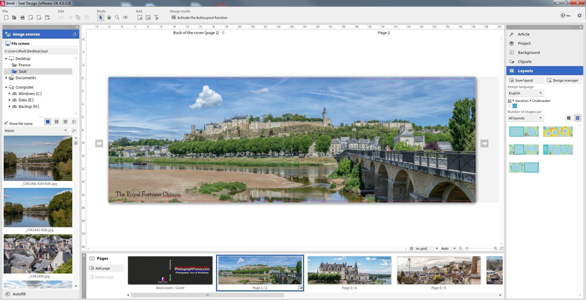 Saal-Digital design software