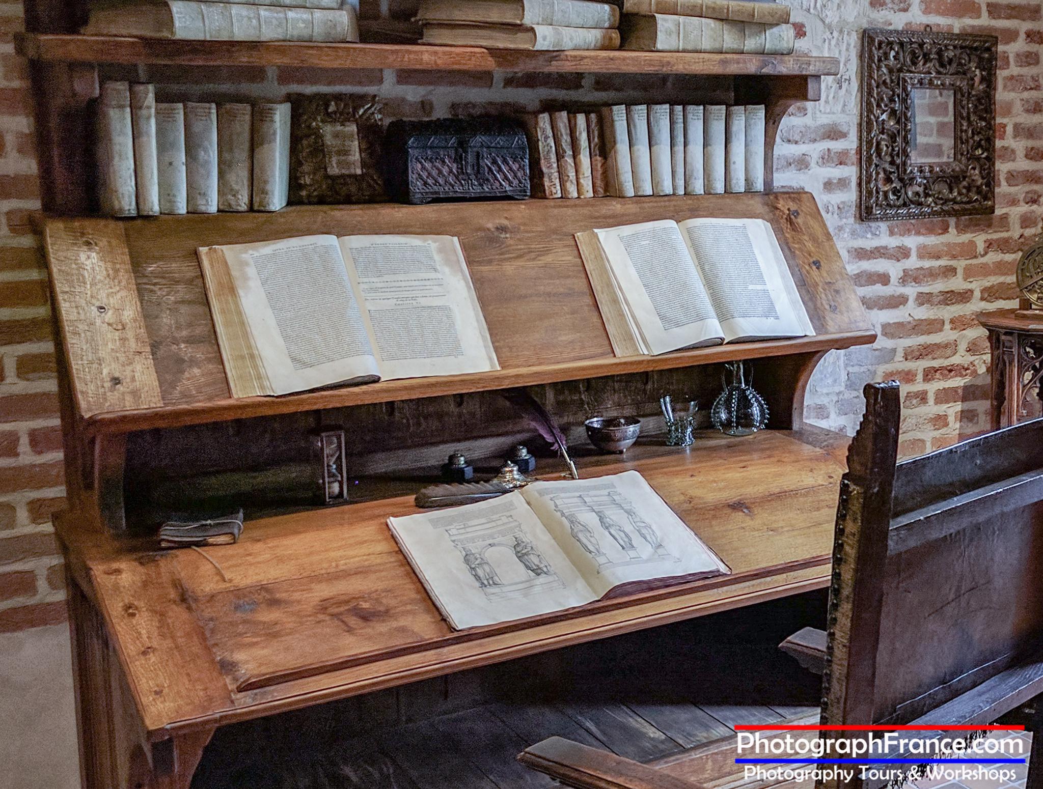 Leonardo's studio in Clos Lucé