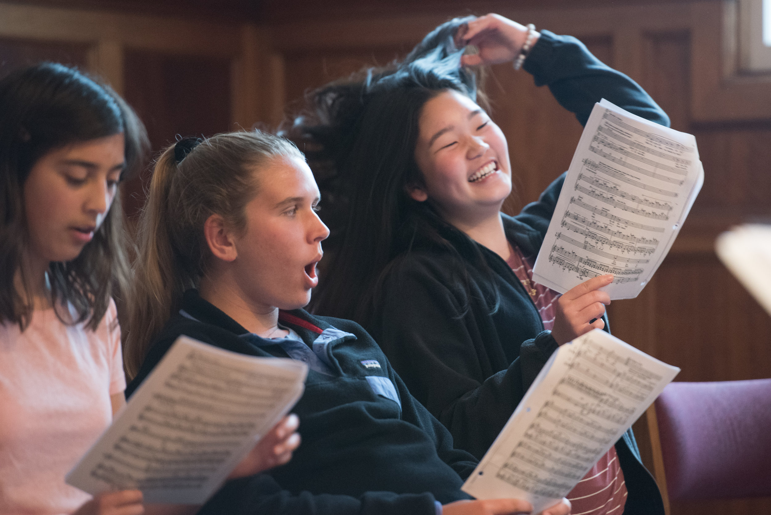 Brundibar rehearsals are underway in Ojai & Santa Barbara!