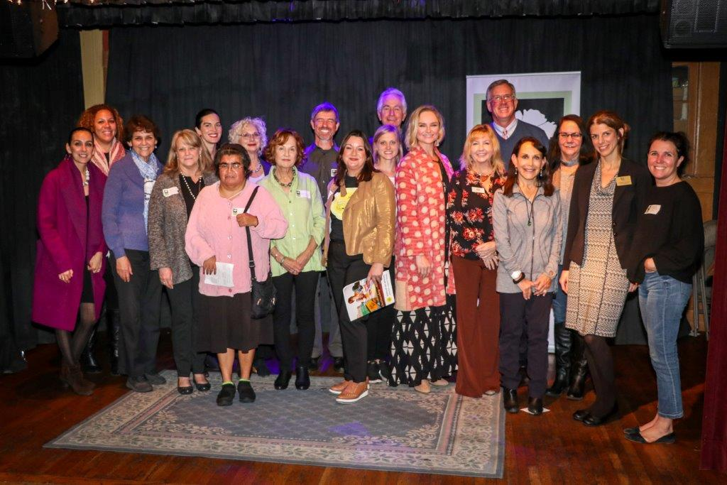 OYO Founder & Artistic Director with other grantees of the Ojai Women's Fund.