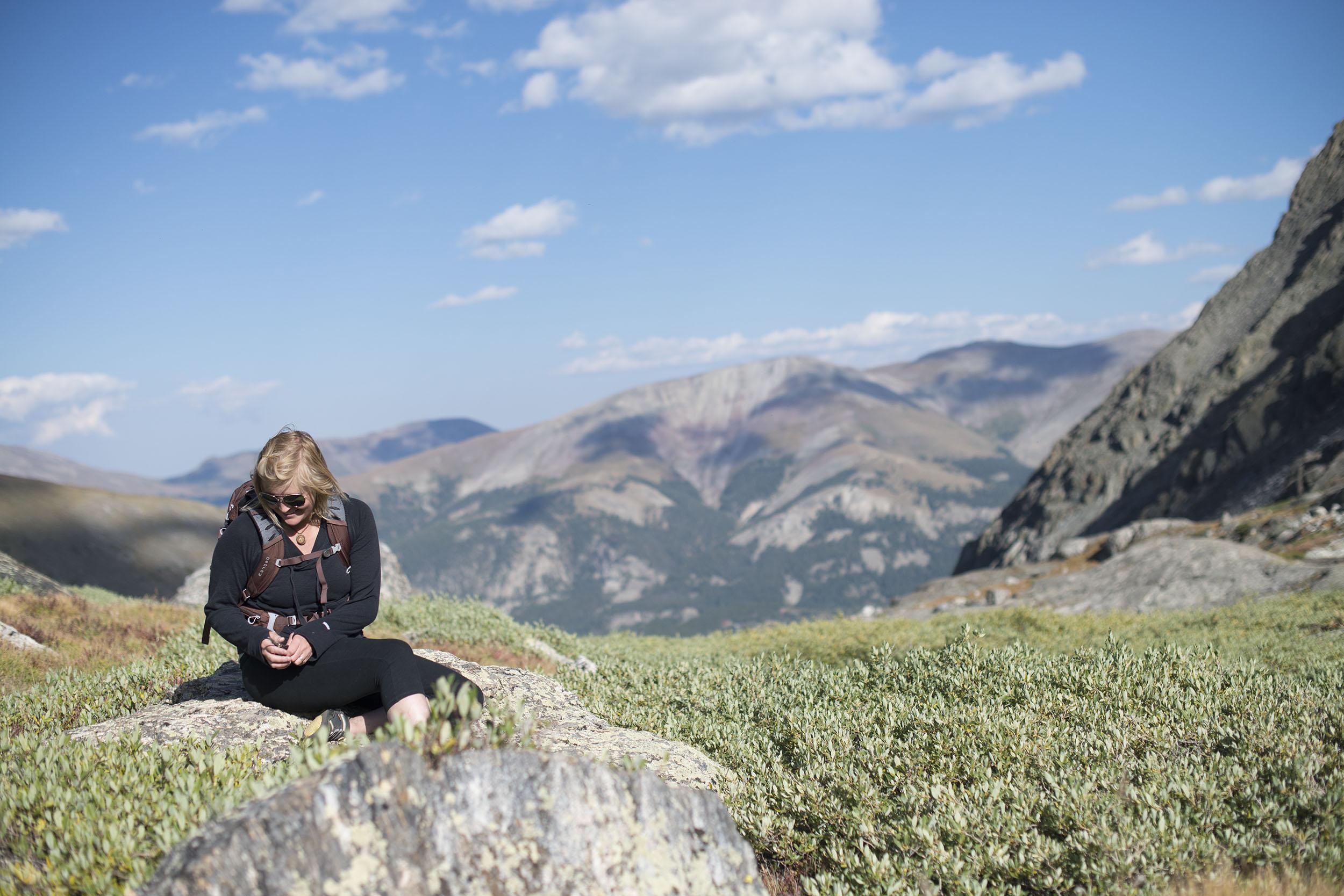 High Altitude Lichen Gathering