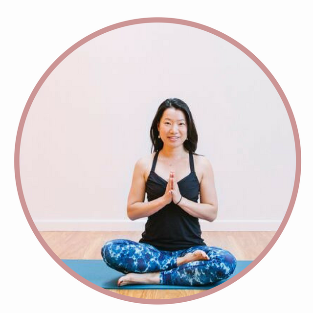 Saerin Ally Cho  yoga teacher and past mentorship client -
