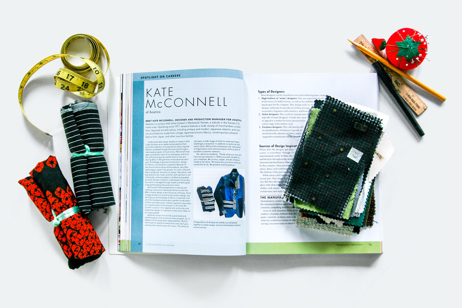 Spotlight on Careers: Kate McConnell in  IN FASHION