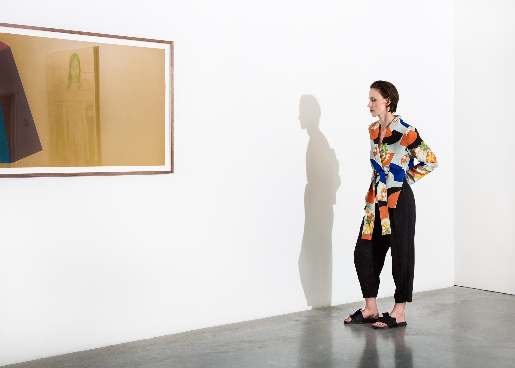 Works by Sol Lewitt / Samara Umbral (in reflection)  @samaraumbral