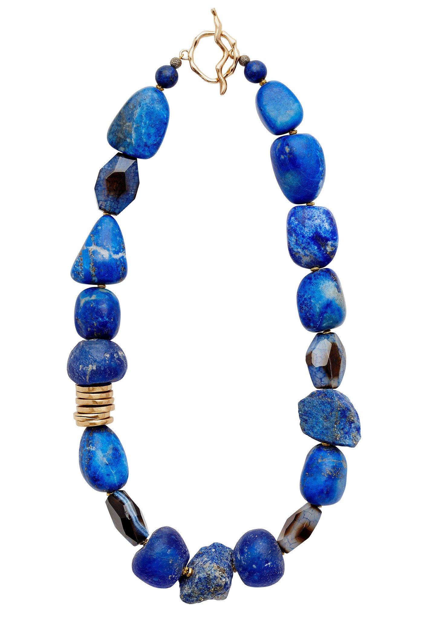 Julie Cohn Indigo Necklace  $495