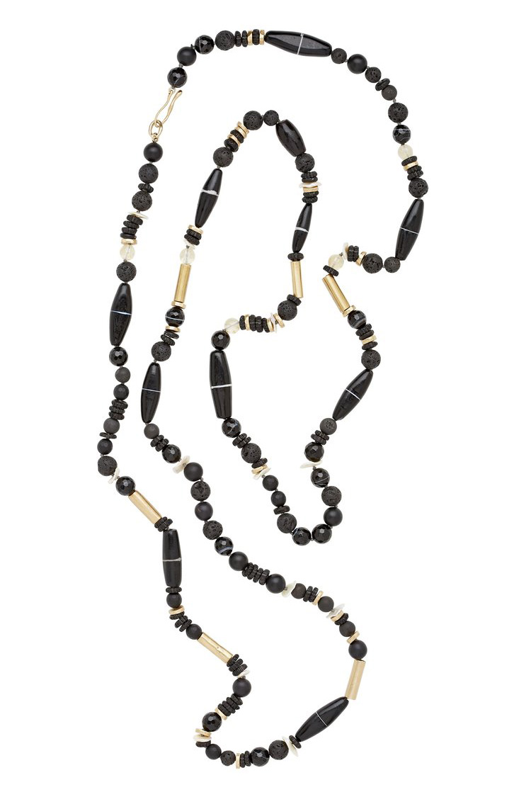 Julie Cohn Ebony Necklace  $695