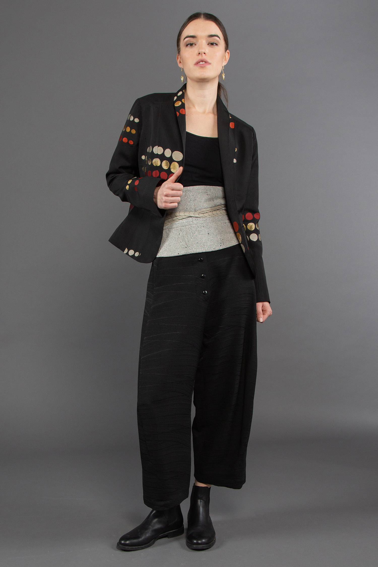 Taylor Jacket + Tie Belt + Paris Pant