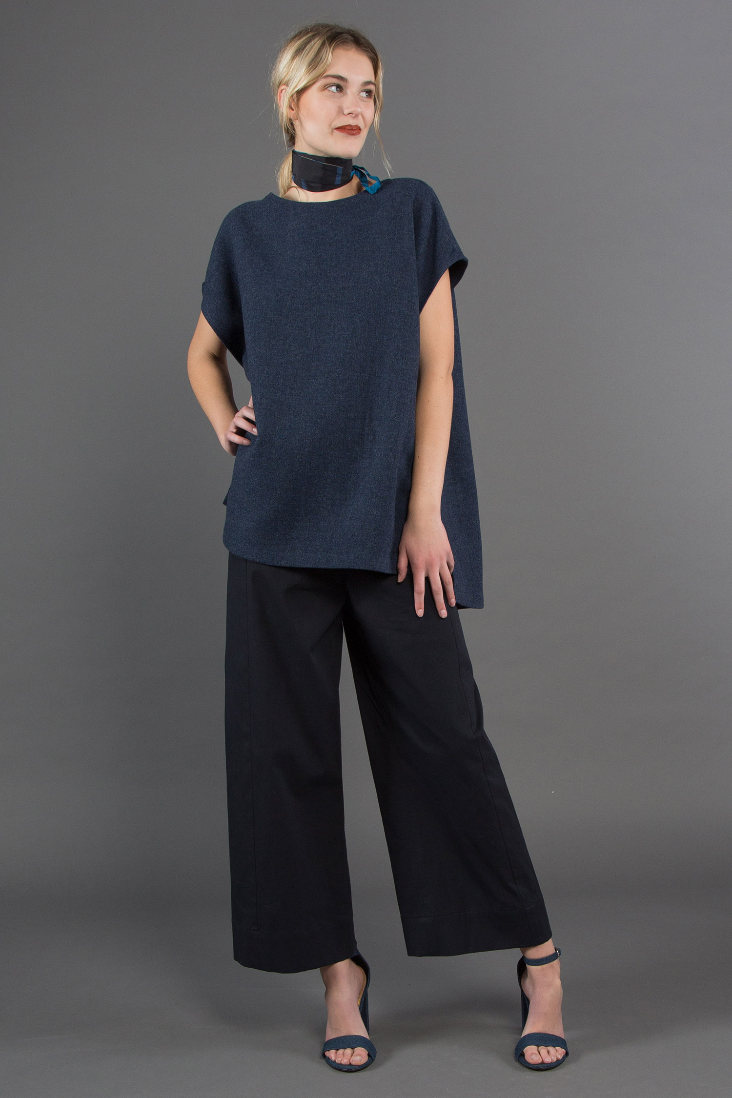 Popover Vest + Panel Pant + Skinny Wrap Belt