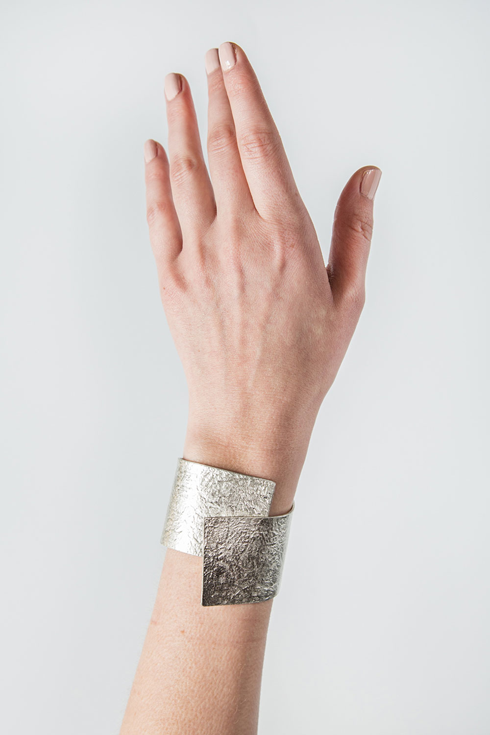 Tin Breath Bendable Bracelet in Silver  $125