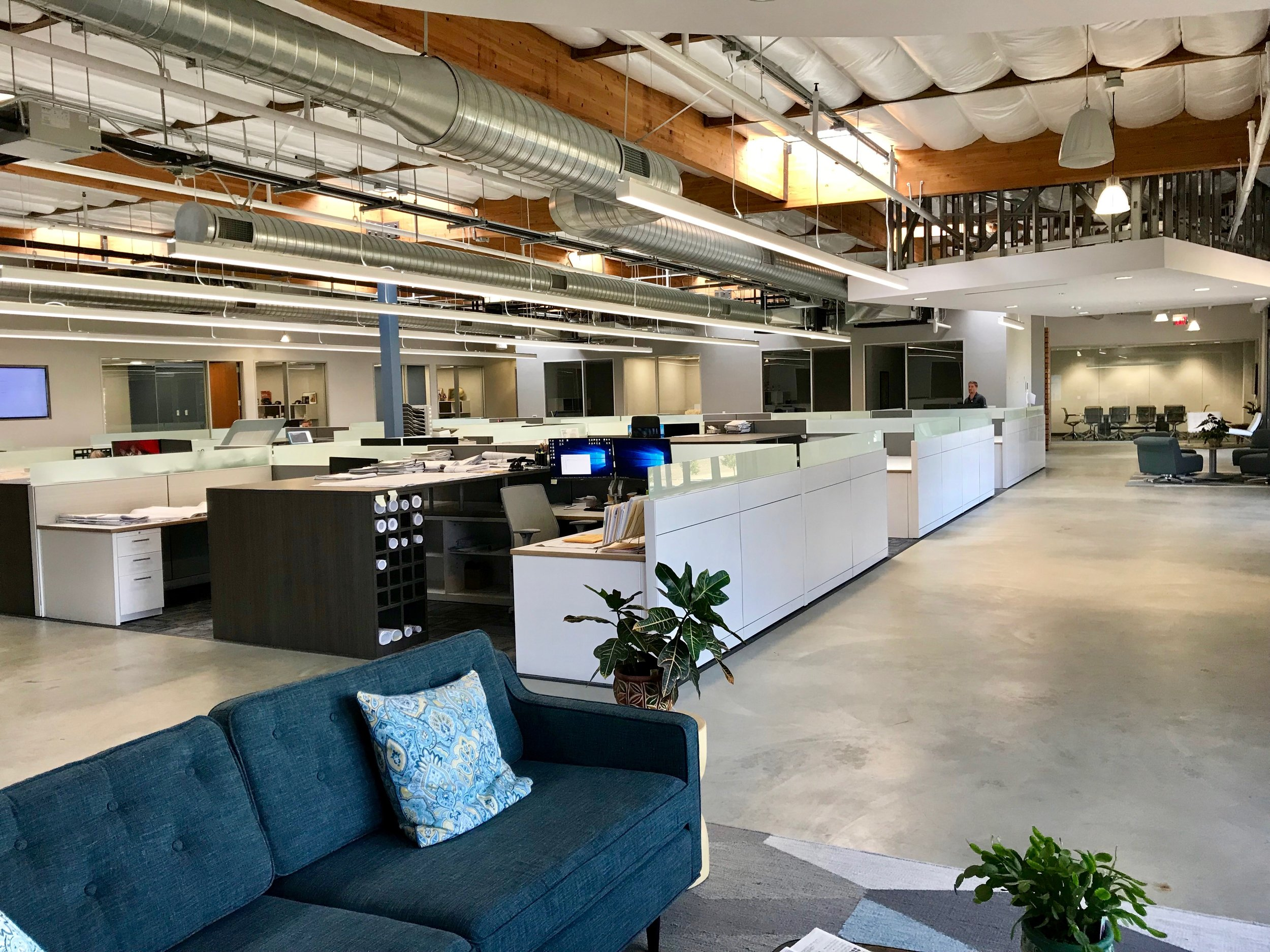 Our Workspace - Let's be honest, a great work environment goes along way when selecting a company to call home. Our newly renovated HQ office in Anaheim has 200,000+ SF of open floor plan work space - a great work flow for today's marketplace.