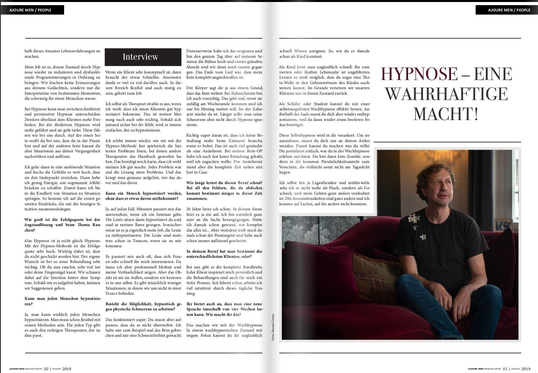 Hypnos Mastermind Nikolai Hanf Dressler