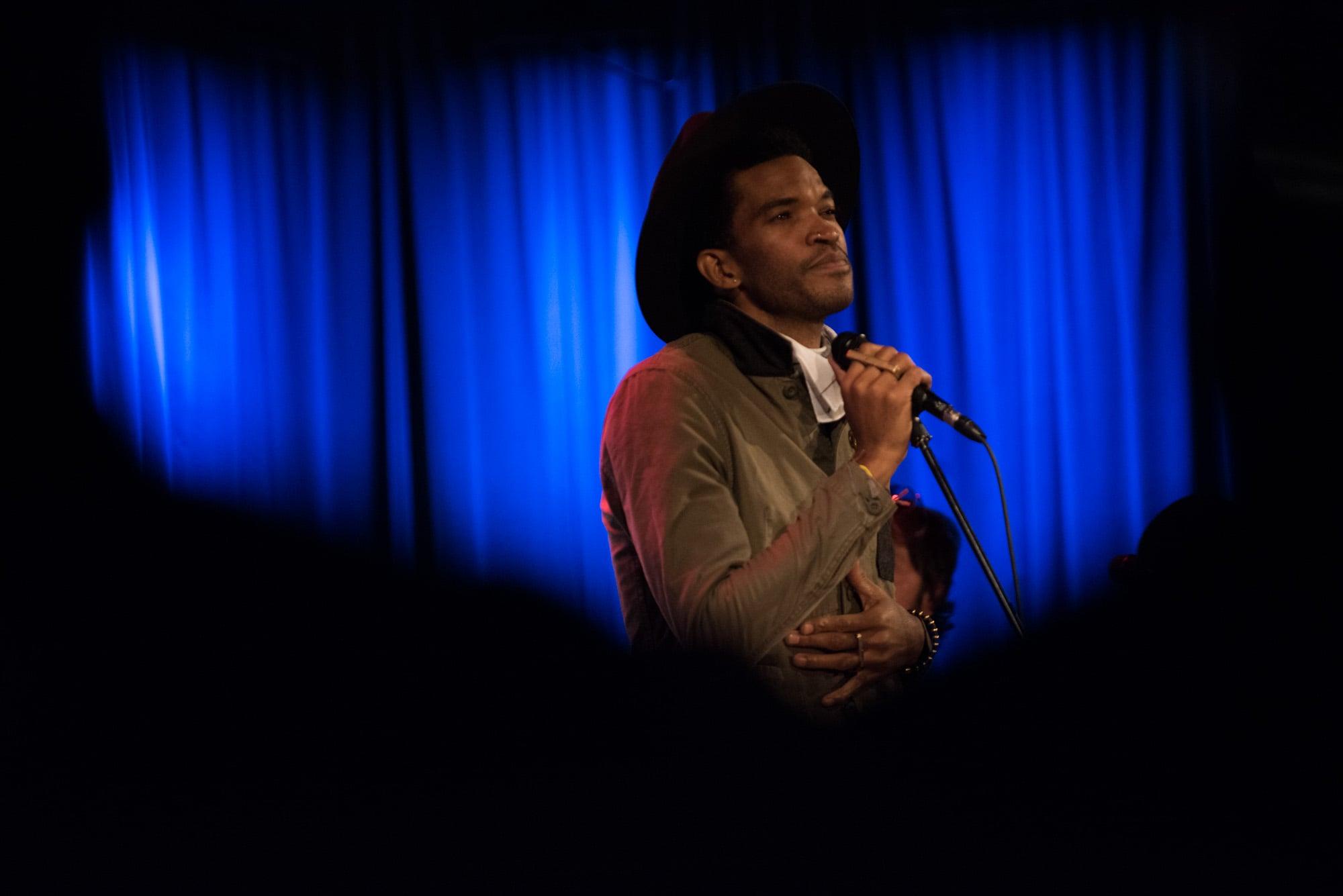 Emmett Skyy live at the Grammy Museum
