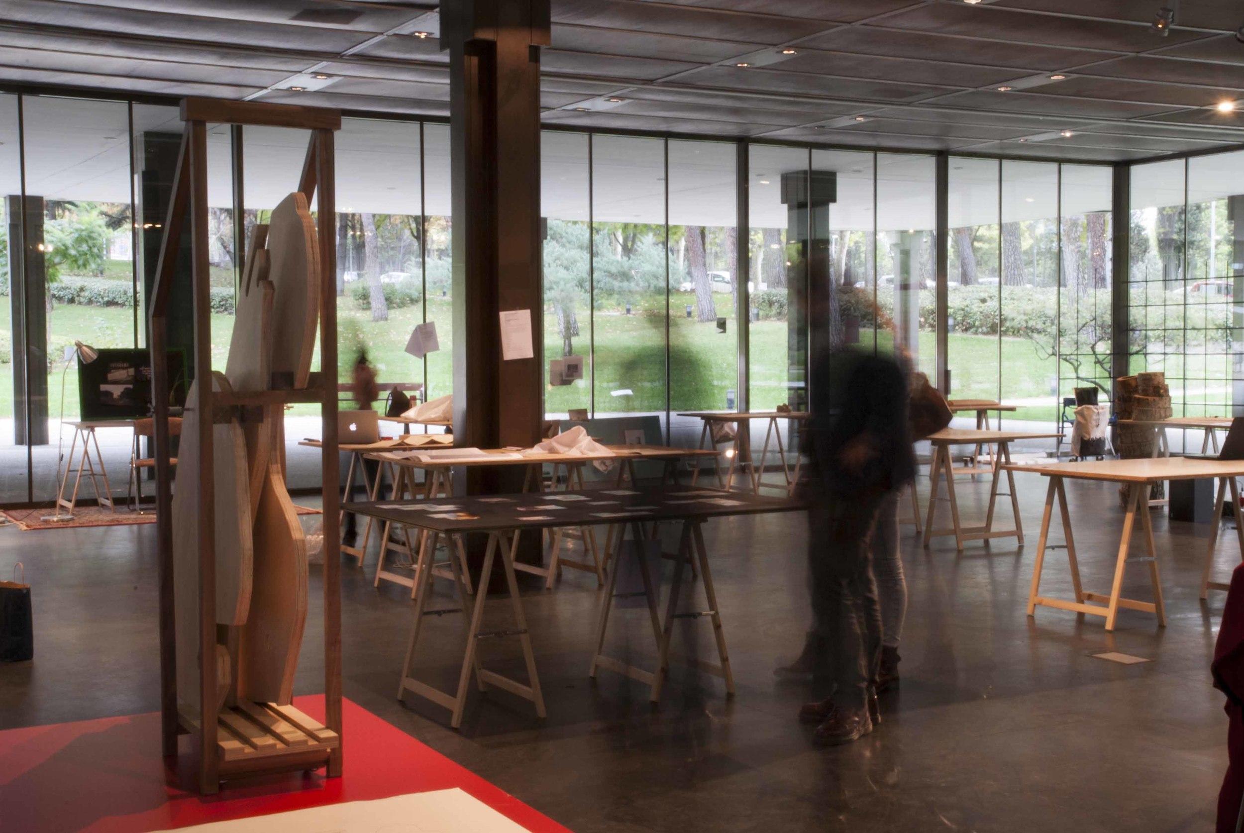 """Proyecto """"El previo a la estancia civilizada"""" en la Sala Jardín, Museo del Traje. Madrid"""