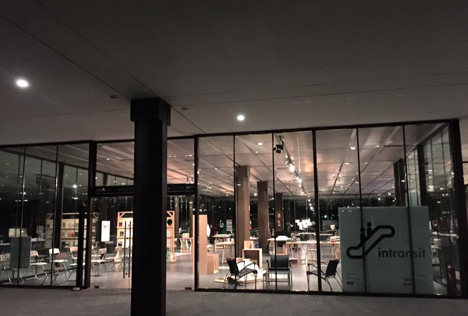 Sala Jardín, Museo del Traje Madrid. Intransit 2015.