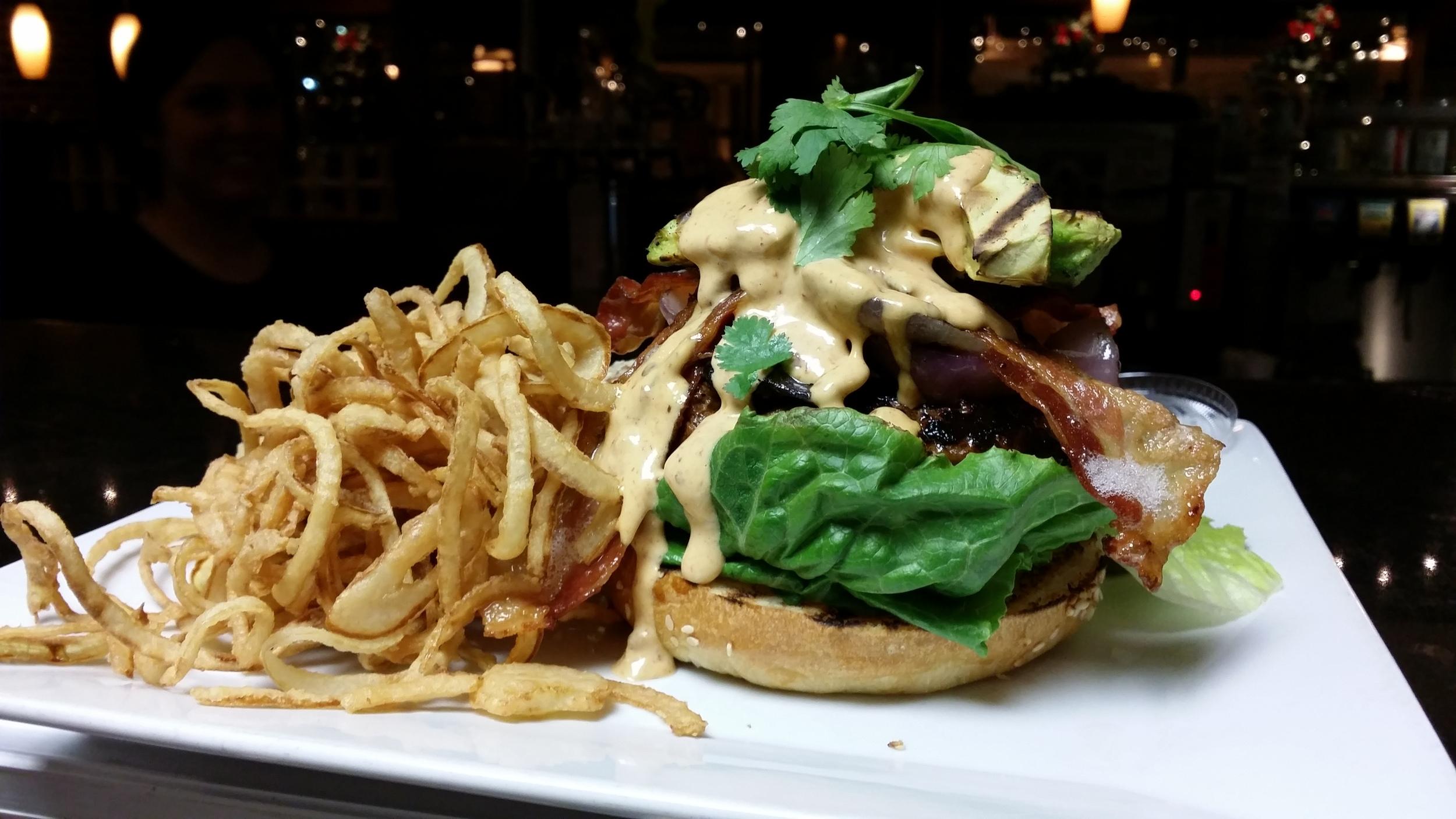 Our Famous Triple Smoke Burger