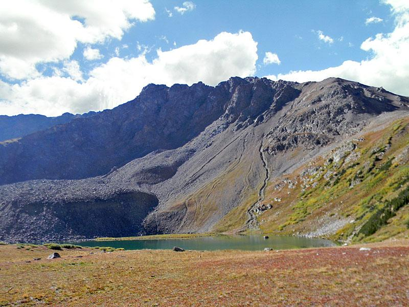 Lake Ann - Distance: 6.6 - 12.0 miles (Round Trip)The hike to Lake Ann, cradled in a pretty alpine basin beneath the Continental Divide, features great views of Huron Peak and the Three Apostles. Continue the hike to a saddle on the divide with stunning views of the Taylor Valley and the peaks riming the Clear Creek valley.