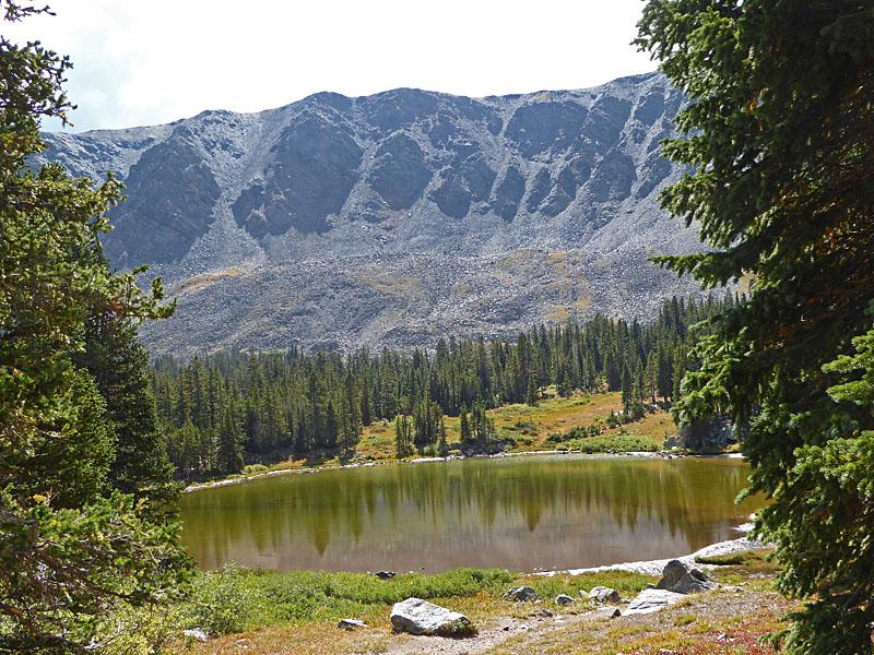 Ptarmigan Lake - Distance: 6.2 - 6.8 miles (Round Trip)This family-friendly scenic hike climbs on moderate grades to a lovely lake with terrific views of Mount Yale (14,196-ft.) and Turner Peak to the north, the Gladstone Ridge to the east and Jones Mountains to the West.