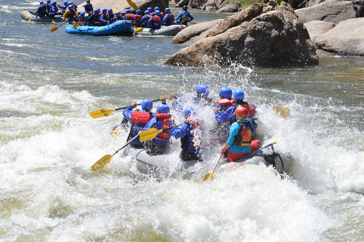 GET ON THE RIVER — CAMPOUT FOR THE CAUSE