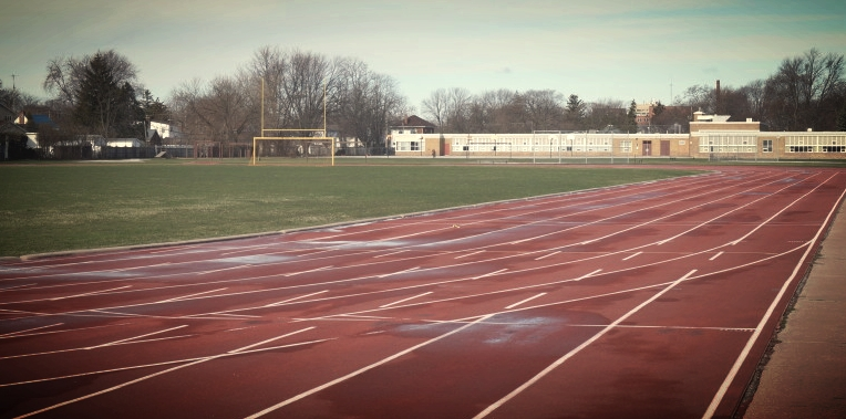 Practices run every day during the week at the Sarnia Central track and field facility.