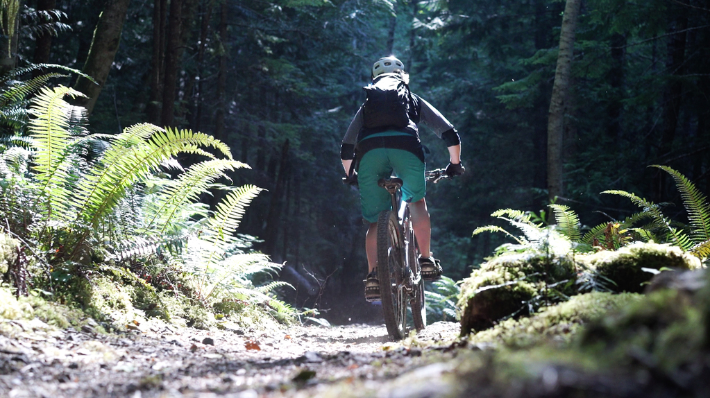 """""""I love this fun, flowy cross-country trail that parallels the South Fork of the Skokomish River. It has a bit of everything!"""" - Jaime, local bike shredder"""