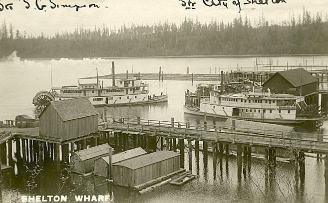 City of Shelton at Shelton Harbor on Oakland Bay