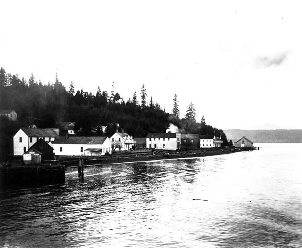 Union, circa 1910; Mason County Historical Society