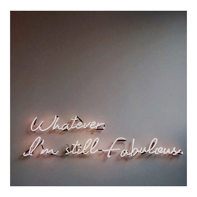 Motto 💯 #fabulous #mondaymotivation