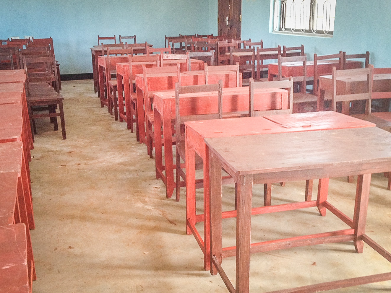 Tables & Chairs in the Multipurpose Building