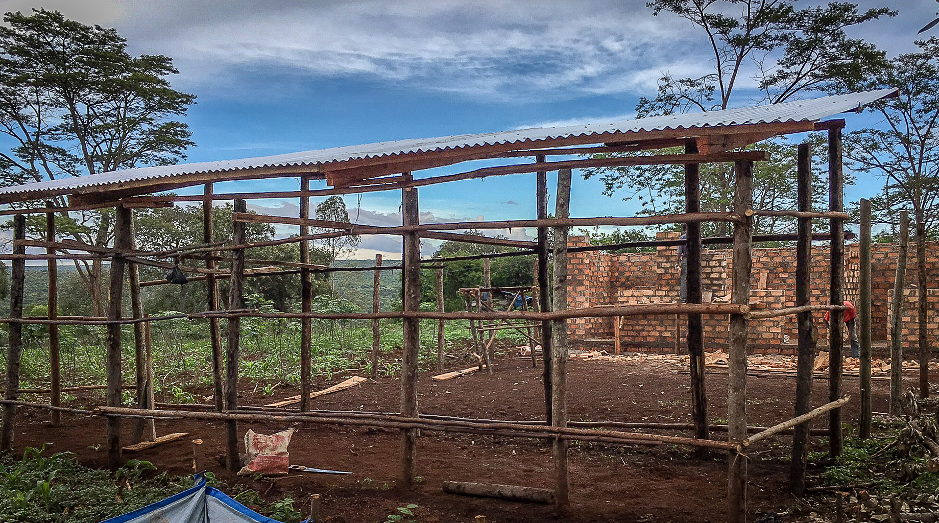 Current progress of the chicken coop.jpg